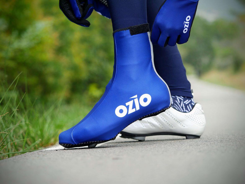 Couvre-chaussures hiver bleu roi OZIO