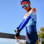 Manchettes de vélo bleu roi OZIO