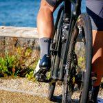 Chaussettes de vélo été grises OZIO