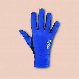 Gants de vélo mi-saison bleu roi OZIO