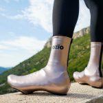 Couvre-chaussures printemps-automne de pluie bronze OZIO