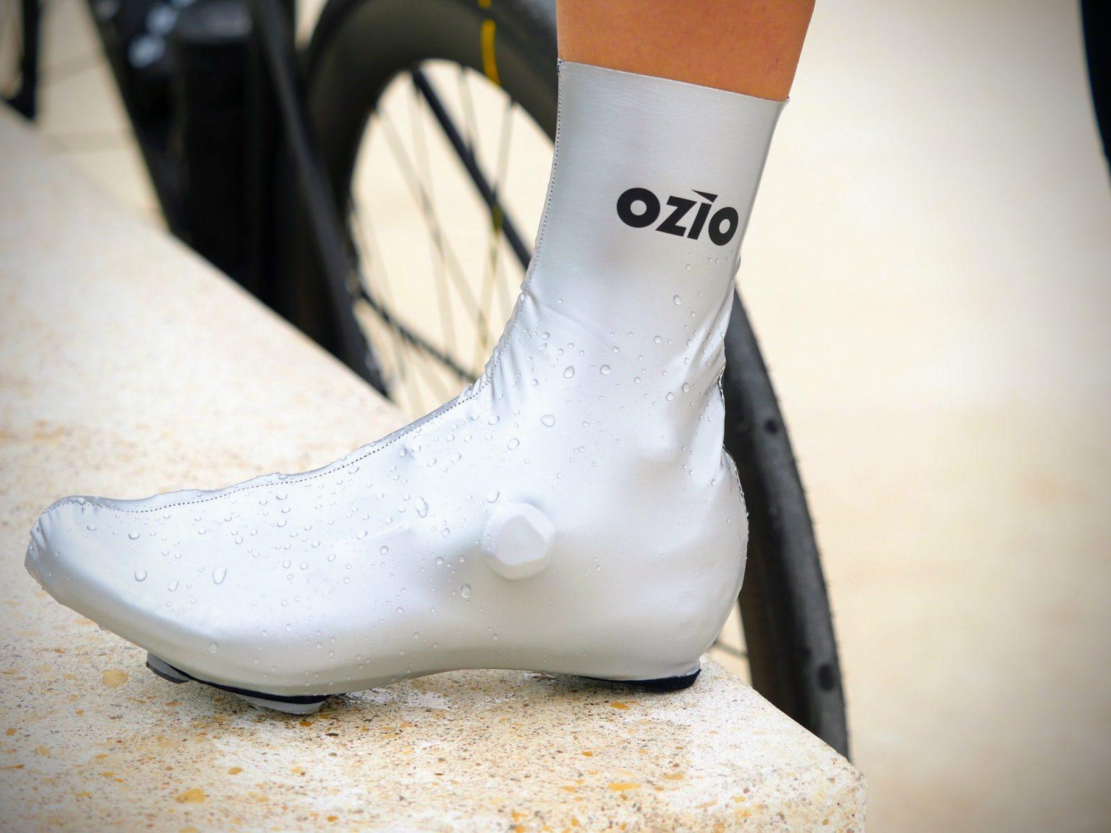 Couvre-chaussures printemps-automne de pluie argent OZIO