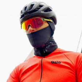 Cagoule de vélo noir OZIO