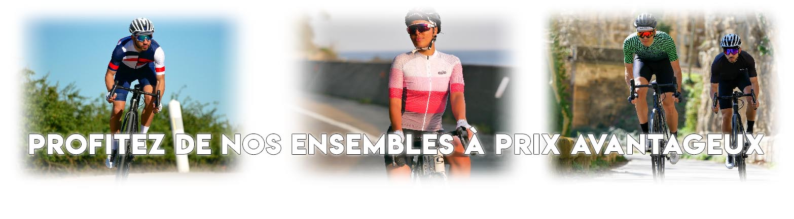 Cycling jersey and cycling shorts