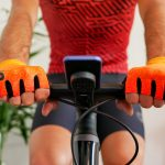 Mitaines de vélo orange OZIO