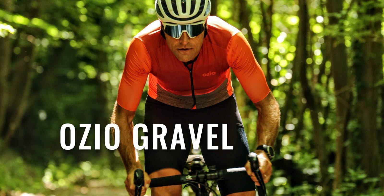 Ensemble maillot et cuissard de vélo Gravel OZIO