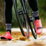 Chaussettes de vélo hiver en laine Mérinos noires OZIO