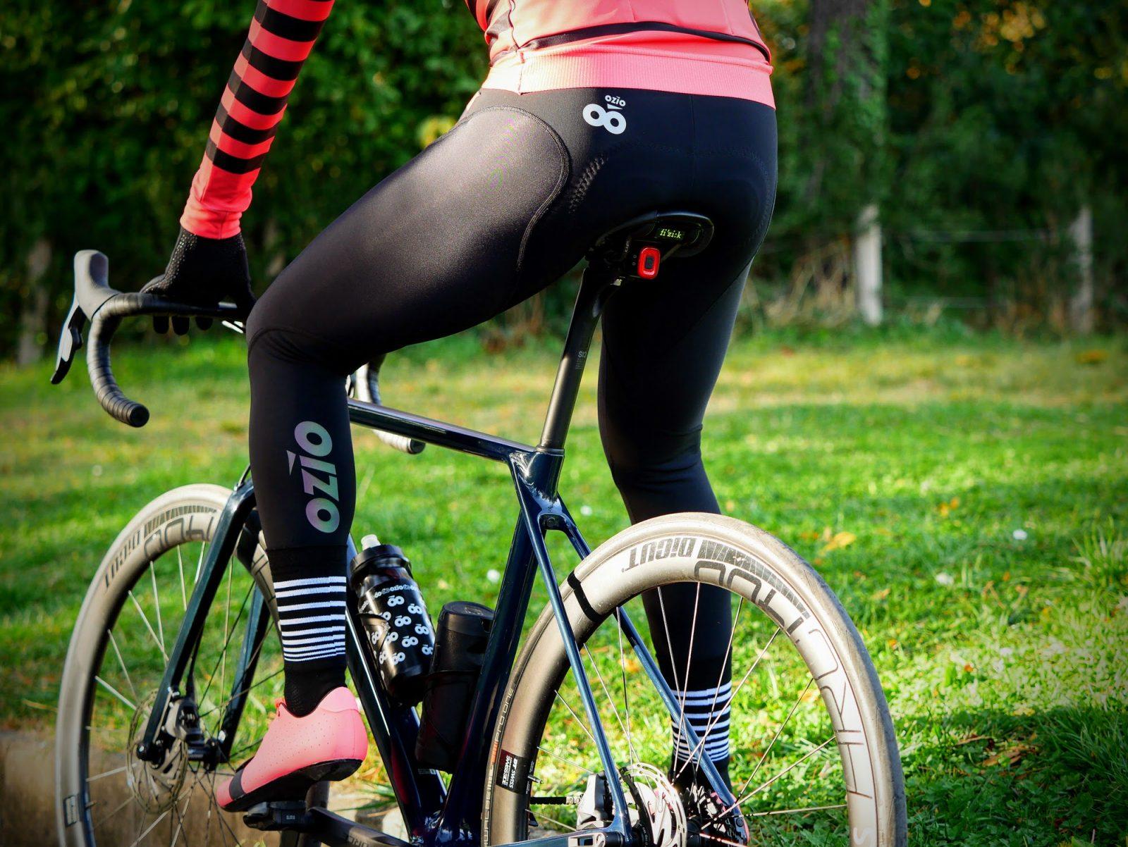Collant vélo hiver noir OZIO