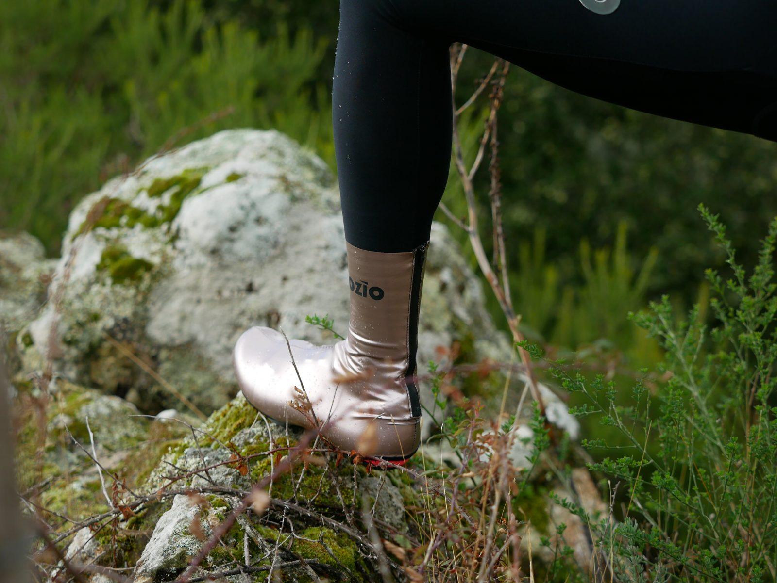 Couvre-chaussures de vélo contre la pluie bronze OZIO