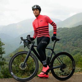 Maillot de vélo manches longues hiver OZIO