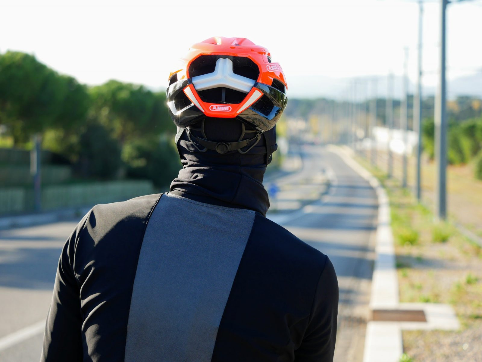 Cagoule de vélo pour l'hiver OZIO