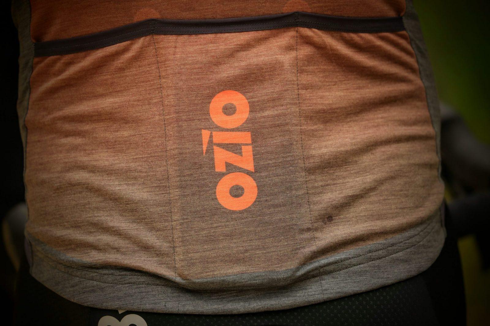 Zoom poche arrière maillot gravel