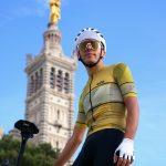 maillot leader jaune statue