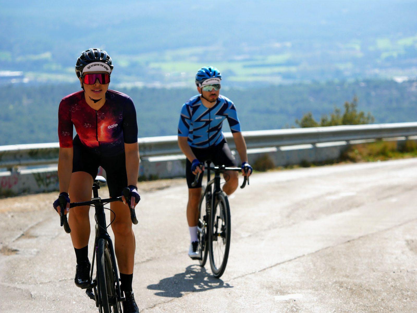 Duo cyclistes maillot de vélo été femme OZIO
