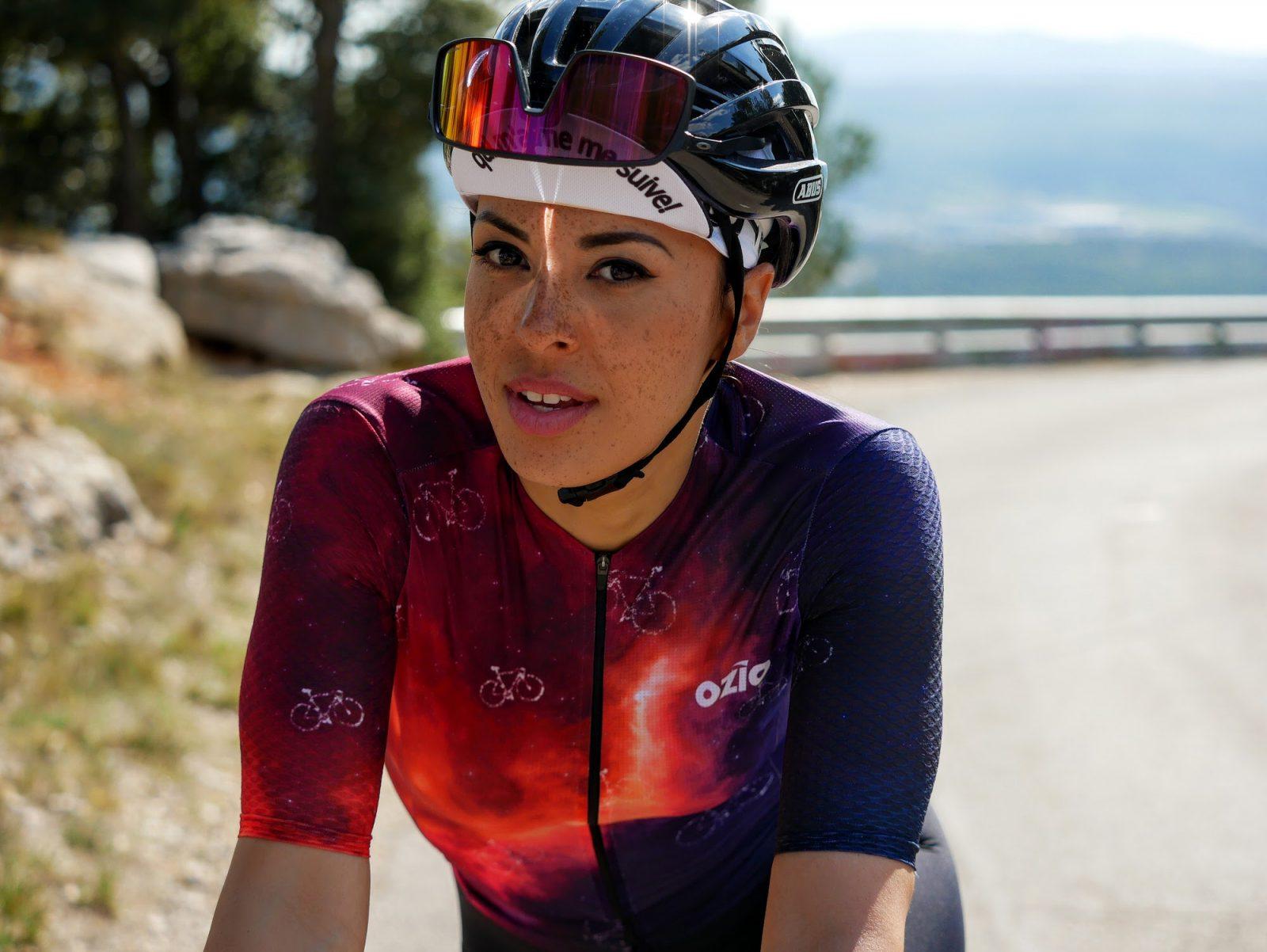Maillot de vélo été femme original OZIO