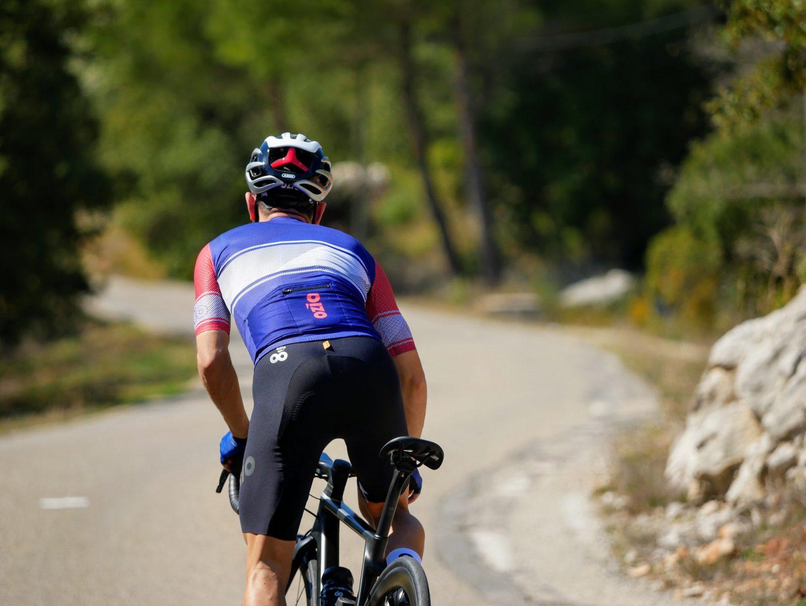 Maillot de vélo été homme avec poche arrière OZIO