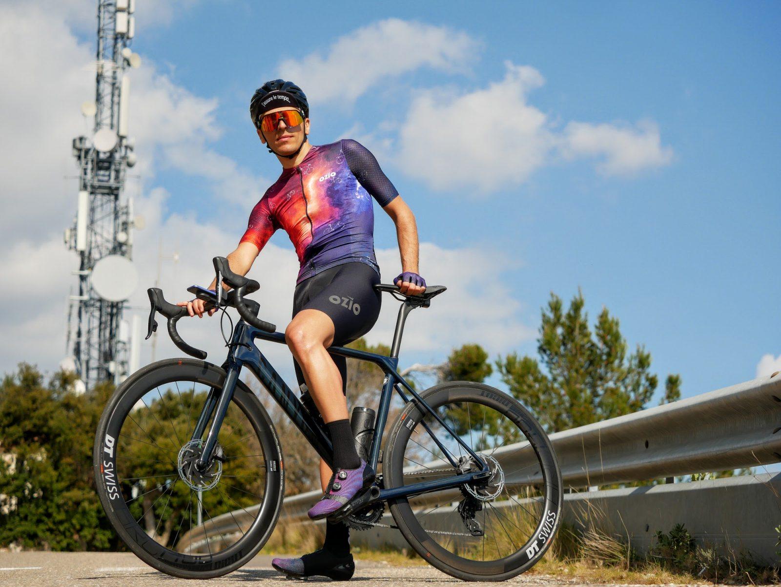 Homme maillot cycliste été CONSTELLATION