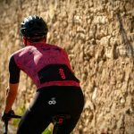 Maillot de vélo manches courtes été vue de dos OZIO