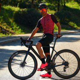 Maillot de vélo manches courtes été homme OZIO