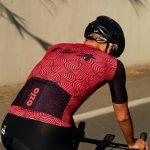 Maillot de vélo manches courtes avec poche arrière été OZIO