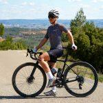 Maillot de vélo été femme vue 3/4 OZIO