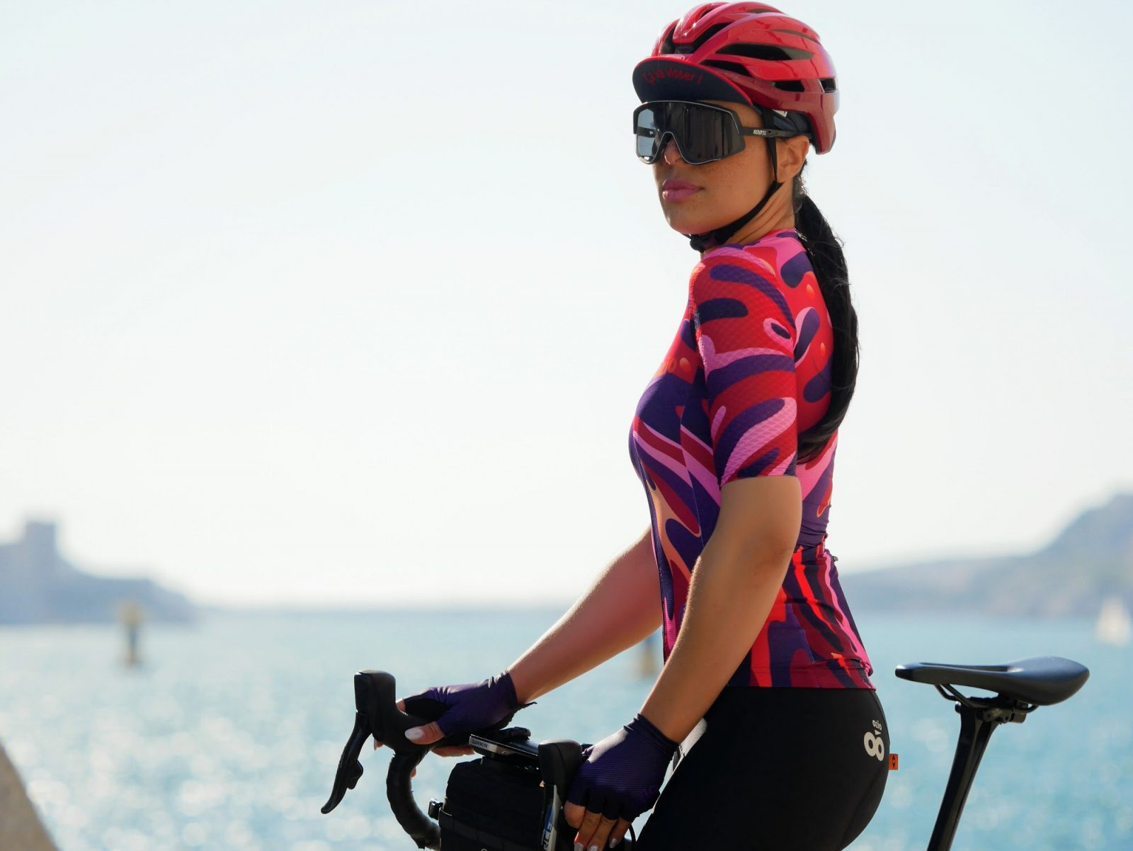 Maillot cycliste été femme OZIO