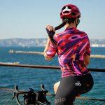 Maillot cycliste été femme arrière OZIO