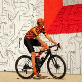 Homme maillot de vélo manches courtes été et cuissard OZIO