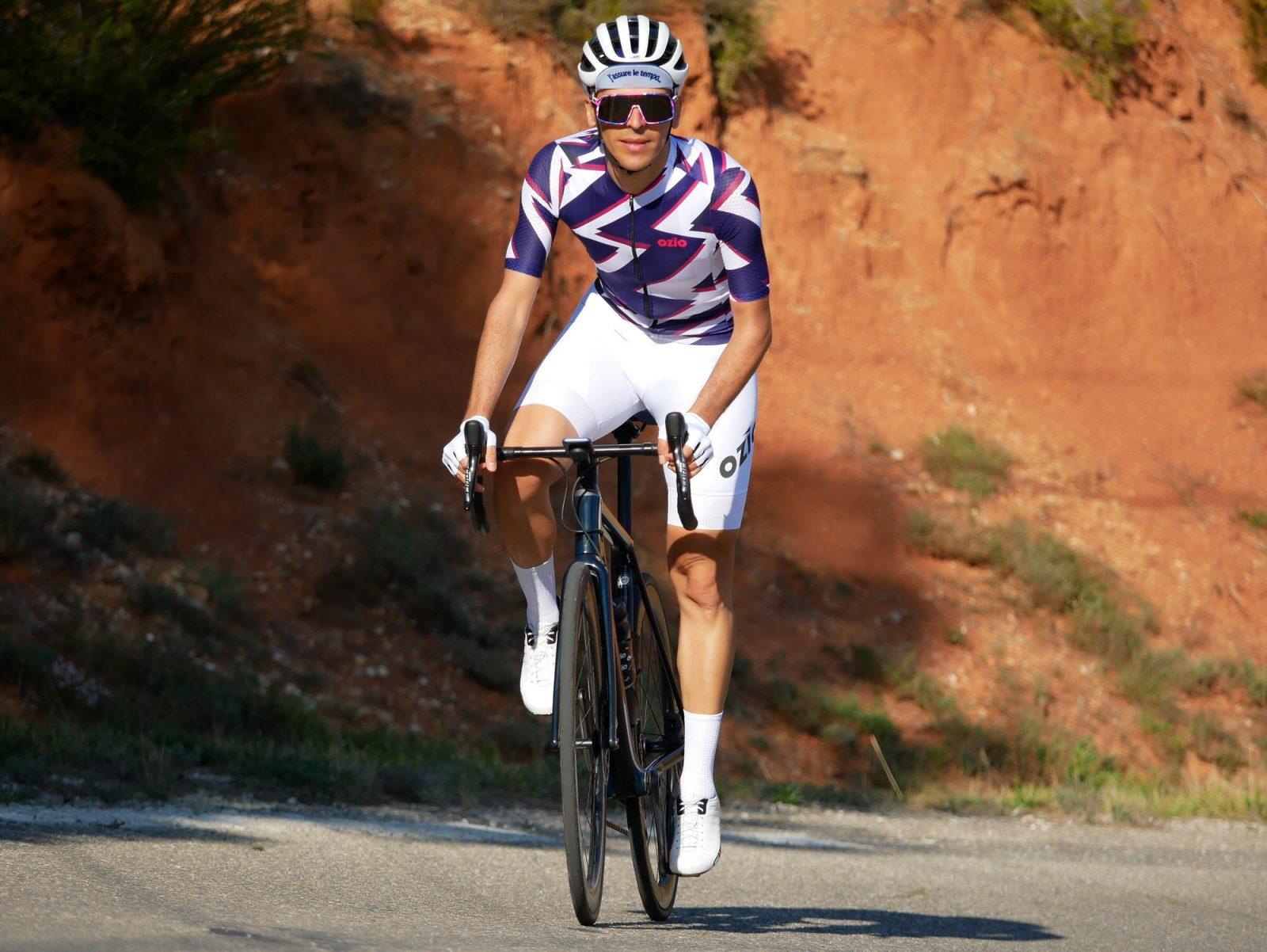 Cycliste maillot de vélo manches courtes été OZIO