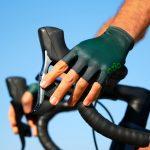 Mitaines de vélo vertes OZIO
