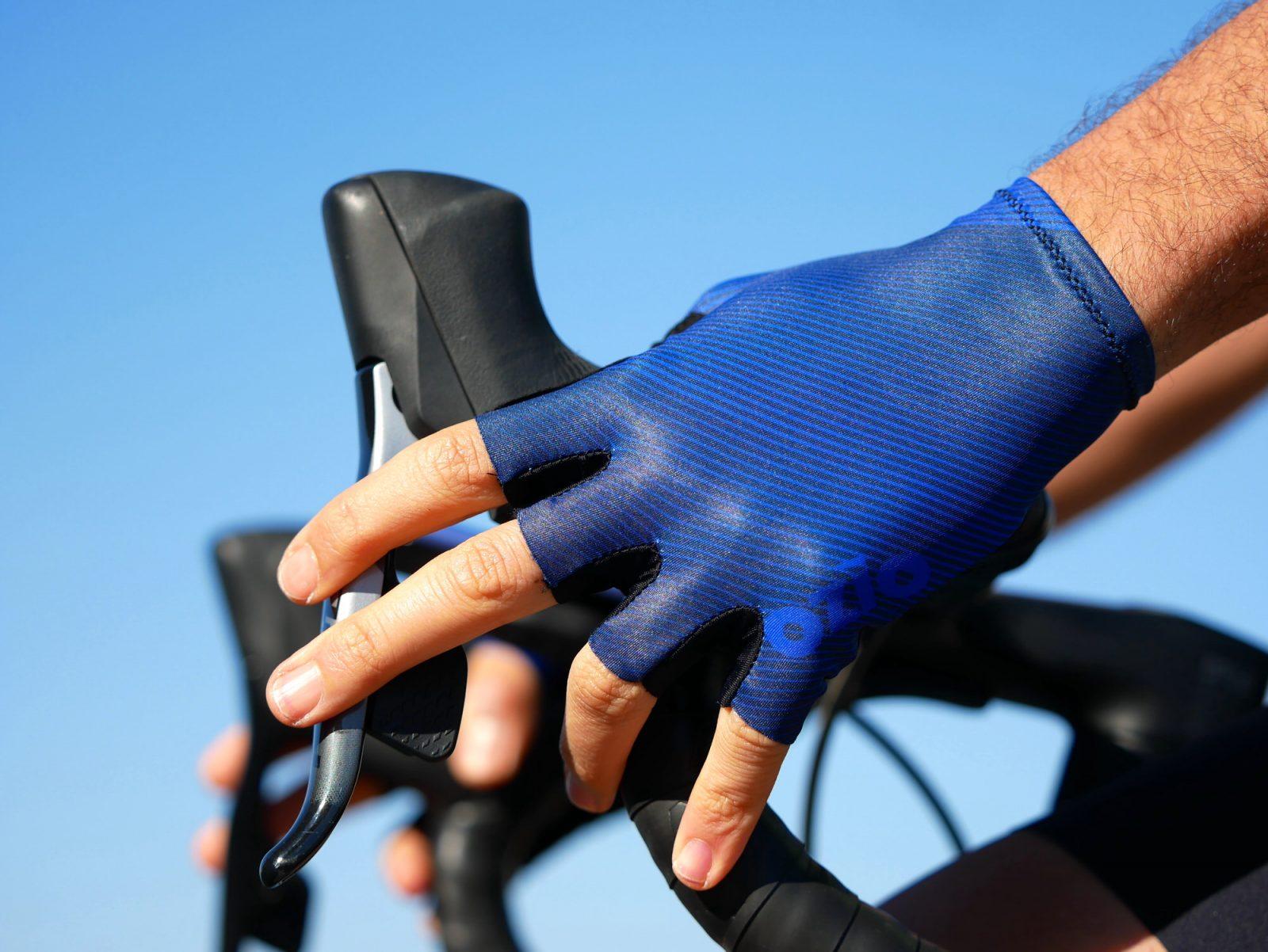 Mitaines de vélo bleues OZIO