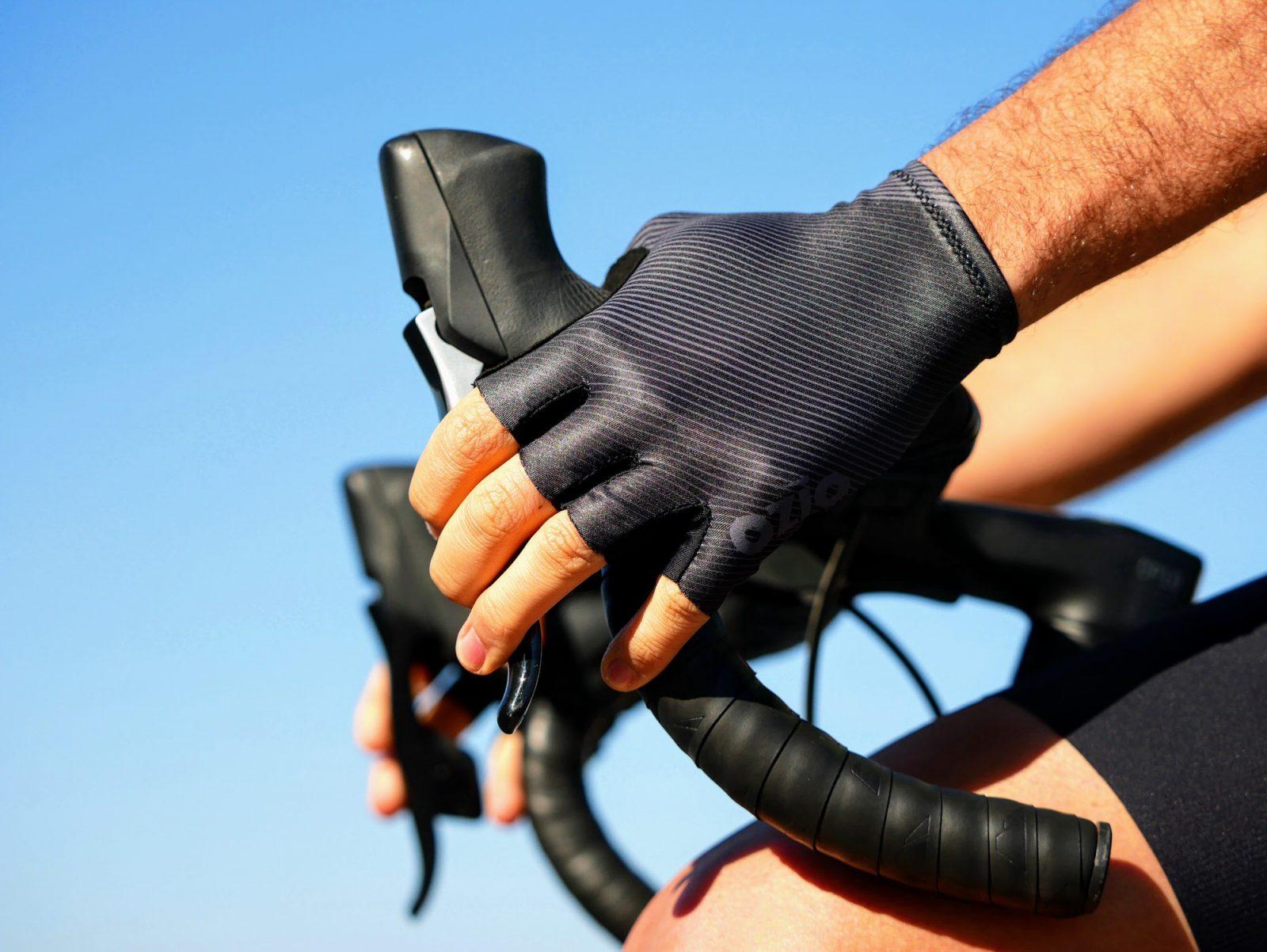 Mitaines de vélo noires OZIO