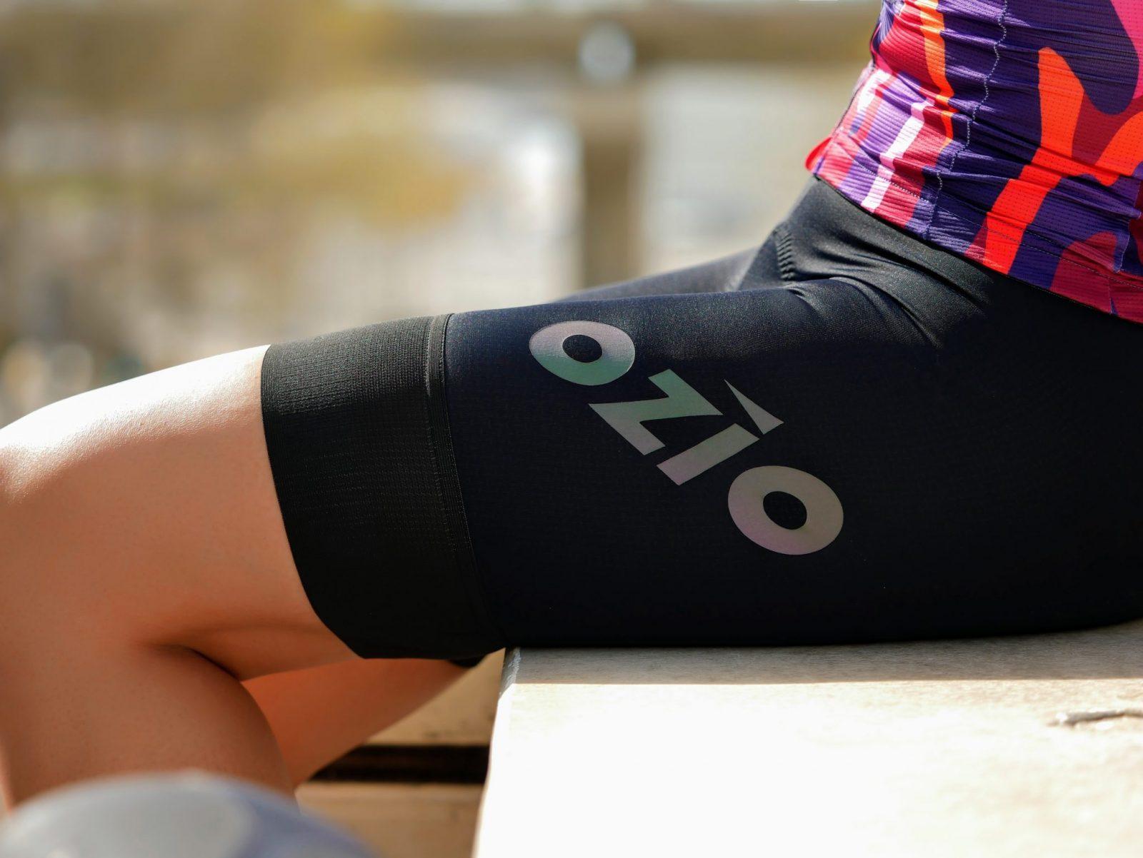 Cuissard de vélo femme noir sans bretelles OZIO