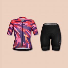 Ensemble maillot cuissard vélo marque OZIO
