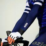 Manchettes de vélo bleu navy OZIO