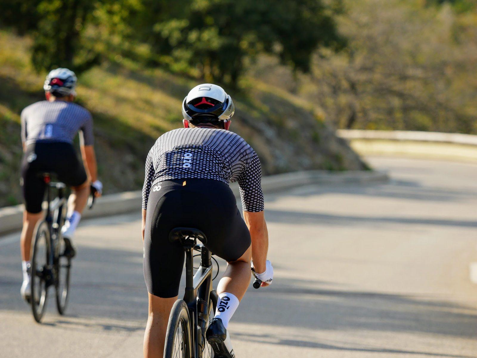 Maillot cycliste été homme de dos OZIO
