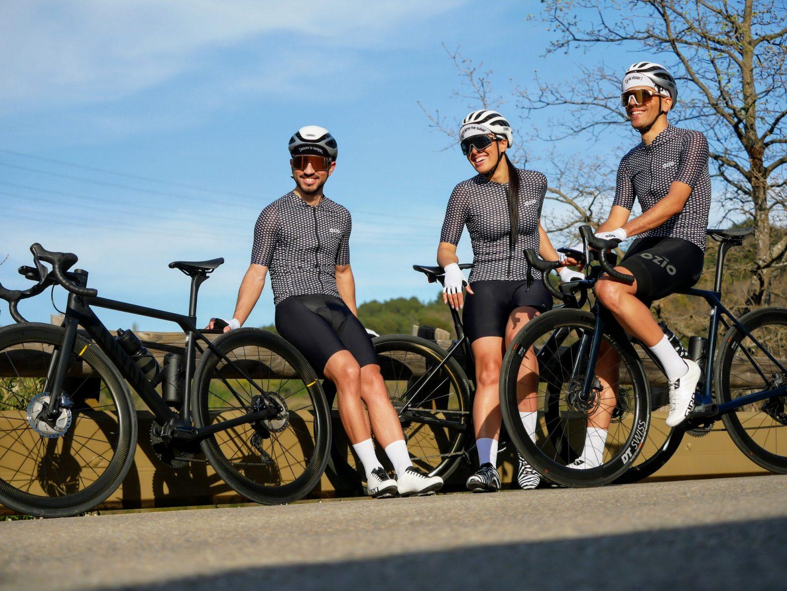 Maillot cycliste été homme et femme OZIO
