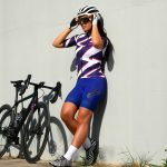 Maillot de vélo femme manches courtes OZIO