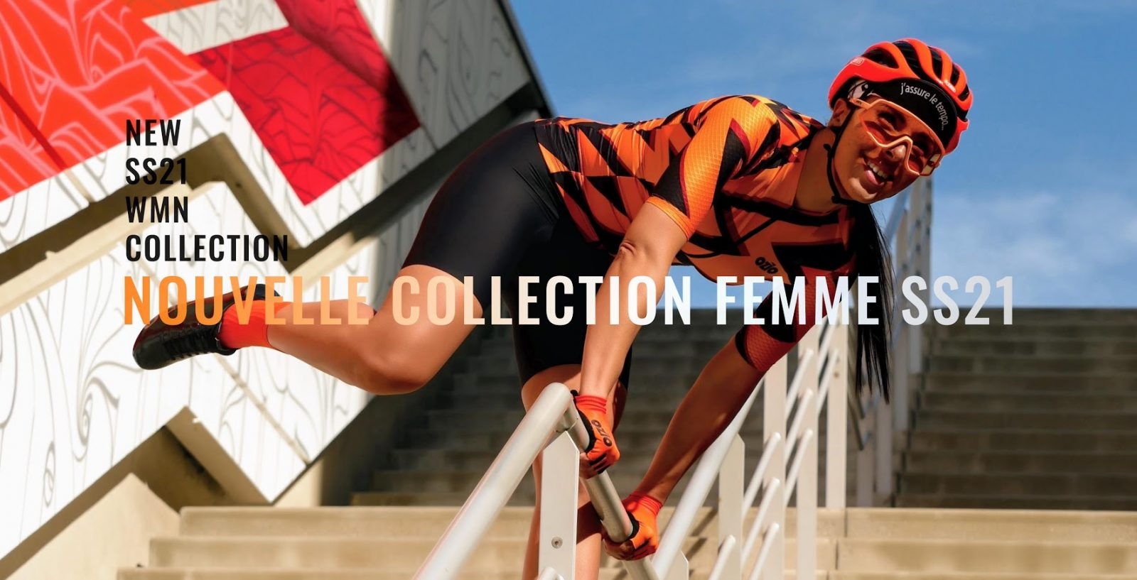 vêtements femme vélo collection printemps été