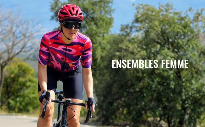 ensembles cycliste femme