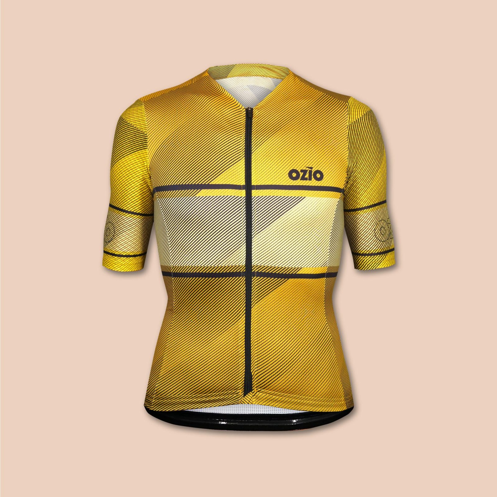 maillot cycliste jaune