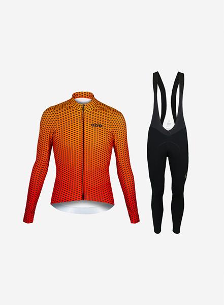 Ensemble maillot et cuissard vélo
